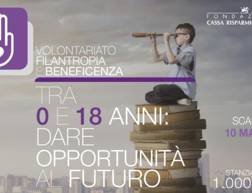 ABC BAMBINI BENE COMUNE, progetto con il sostegno della FONDAZIONE CASSA DI RISPARMIO DI PERUGIA