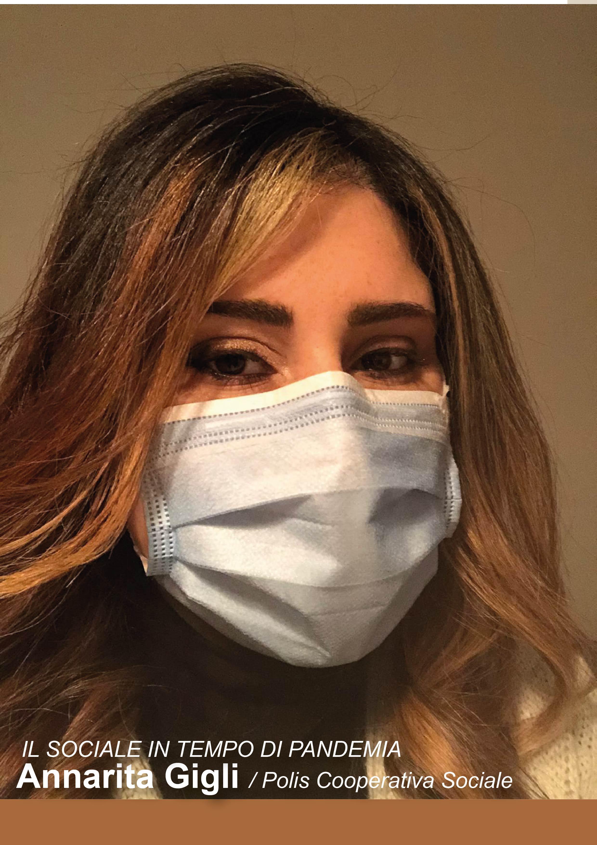 Annarita Gigli, il sociale in tempo di pandemia