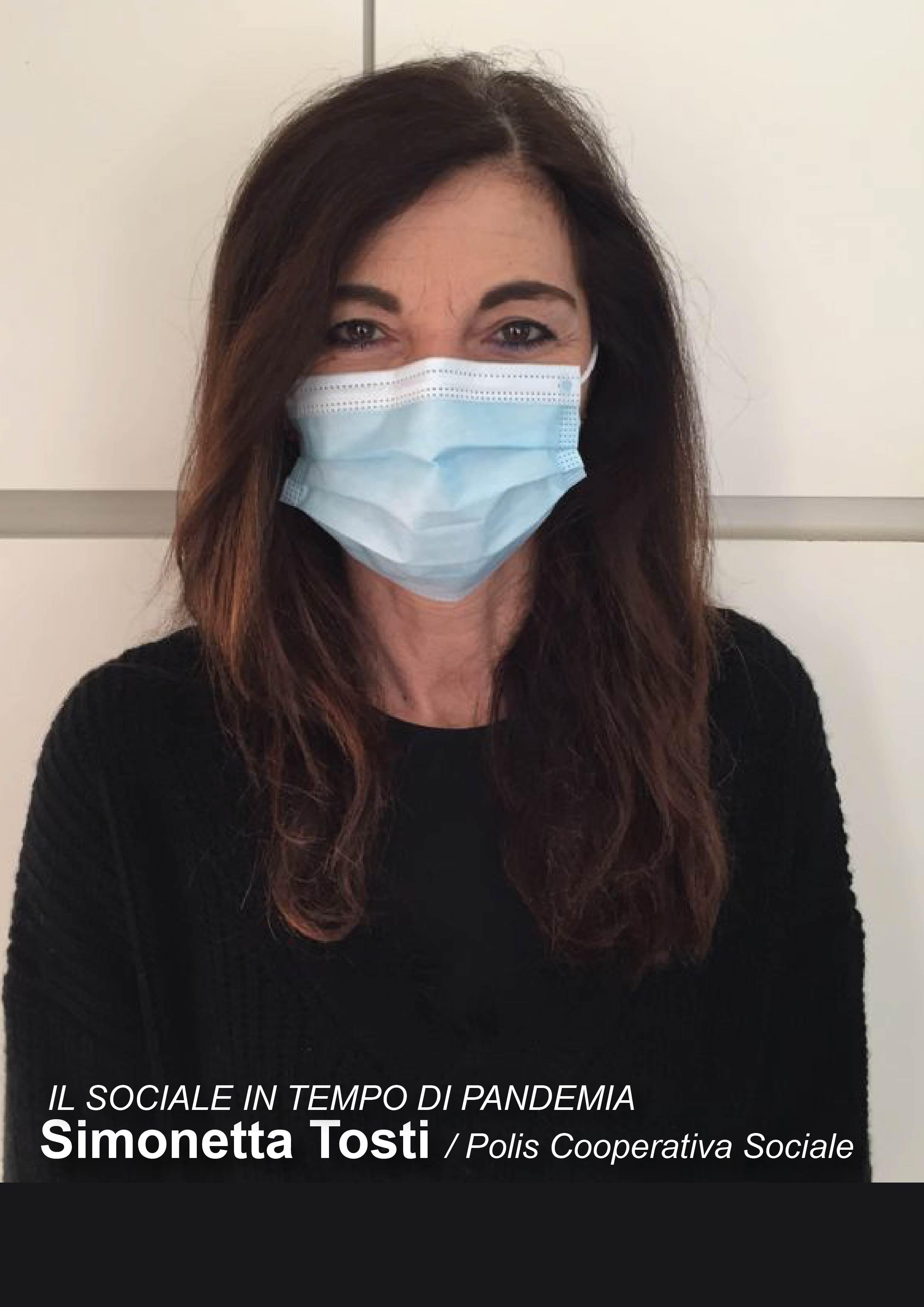 Simonetta Tosti, il sociale in tempo di pandemia