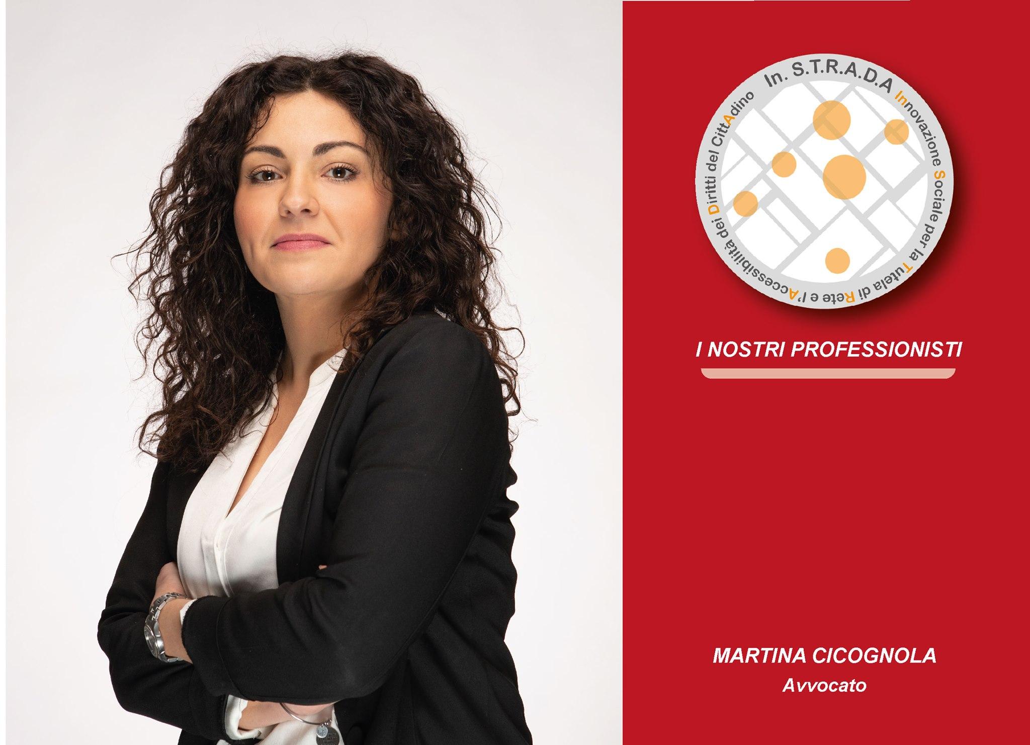 Associazione In.S.T.R.A.D.A/Martina Cicognola, avvocato