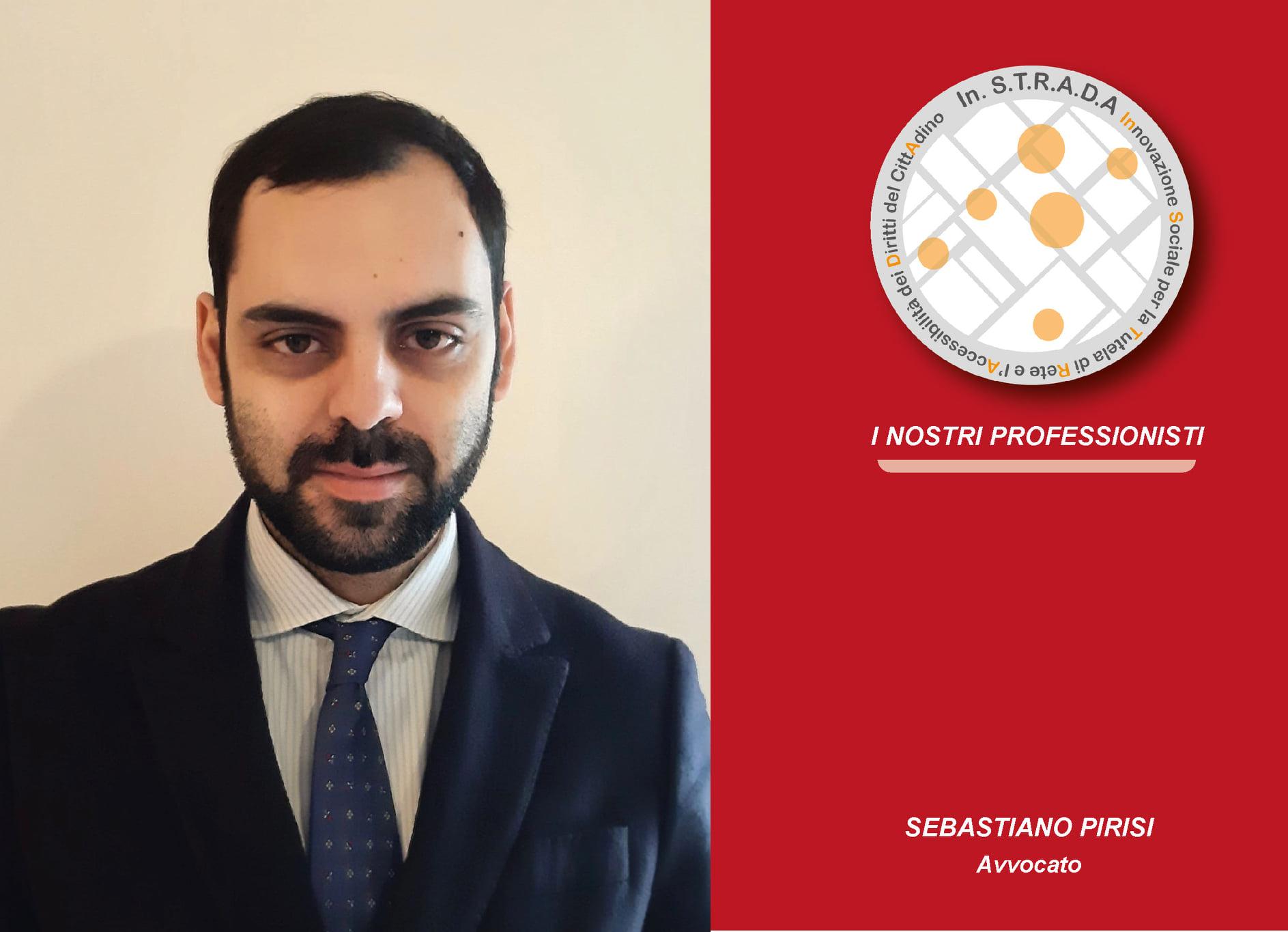 Associazione In.S.T.R.A.D.A, Sebastiano Pirisi, avvocato